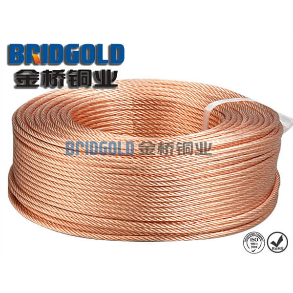 Bare Copper Strand Wire 0.25mm-1.05mm (AWG30-AWG18)