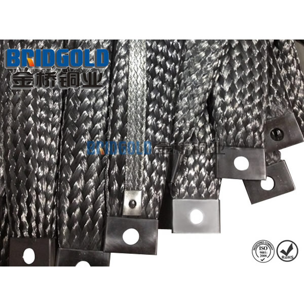 stainless steel braided ground strap