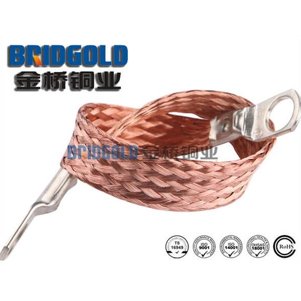 copper braided connectors