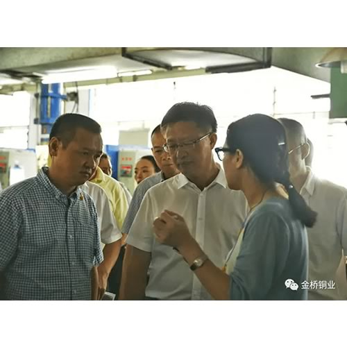Lin Yijun,Party Secretary of the Yueqing Municipal Party Committee, visited Bridgold ---- Supervise the Business Environment Construction