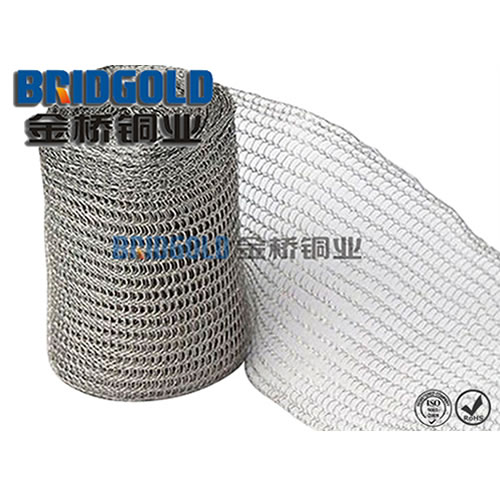BRIDGOLD Pure Copper Knitted Wire Mesh
