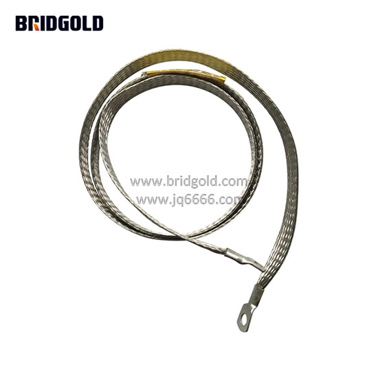 Lightning Grounding of Curtain Wall Copper Braided Ground Strap